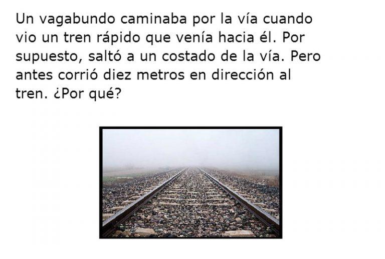 El vagabundo y el tren