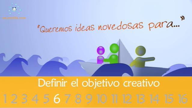 Cómo definir bien un objetivo creativo