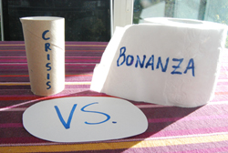 Crisis versus Bonanza